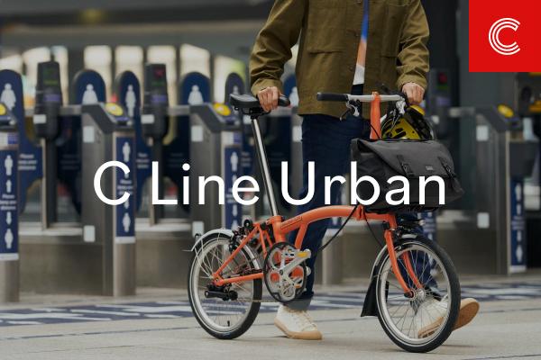 Brompton bicycle, folding bike